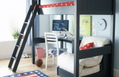 Boys Bedroom With A Bunk Bed