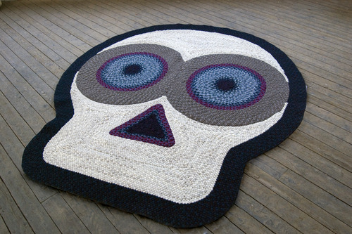 Hand-Braided and Hand-Laced Wool Rug – Braid Dead Rug