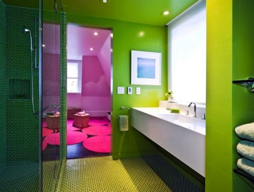 green bathroom remodel ideas decorating