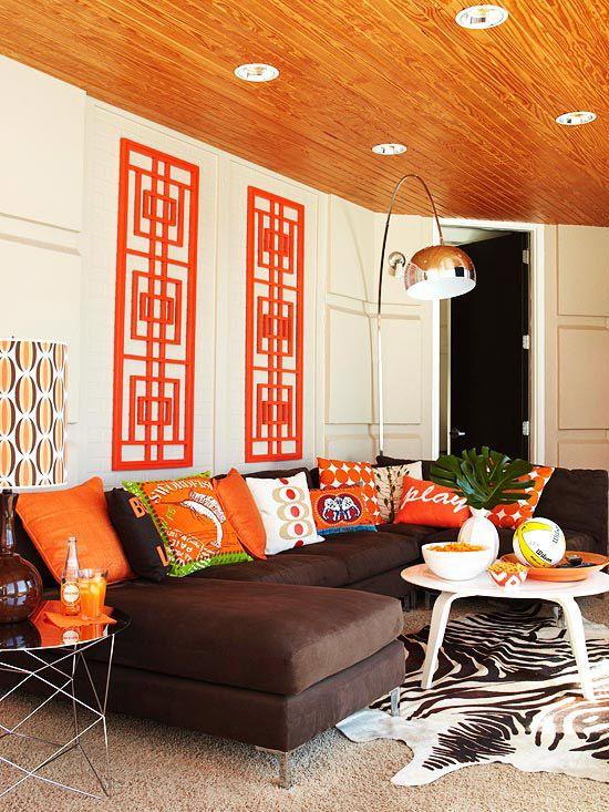 Inspiring Ripe Orange Room Designs DigsDigs - Banana mood 27 yellow dipped room designs