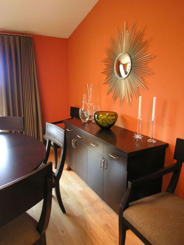 Bright And Inspiring Orange Room Designs