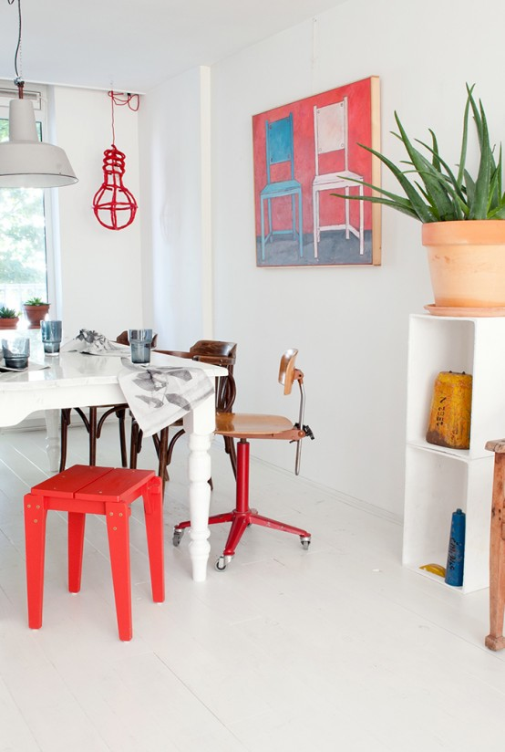 Bright And Lively House Of A Dutch Designer