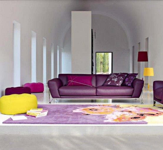 Bright And Modern Sofas By Roche Bobois