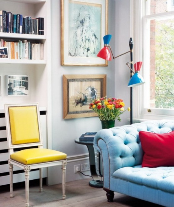 Bright Apartment In A Variety Of Colors