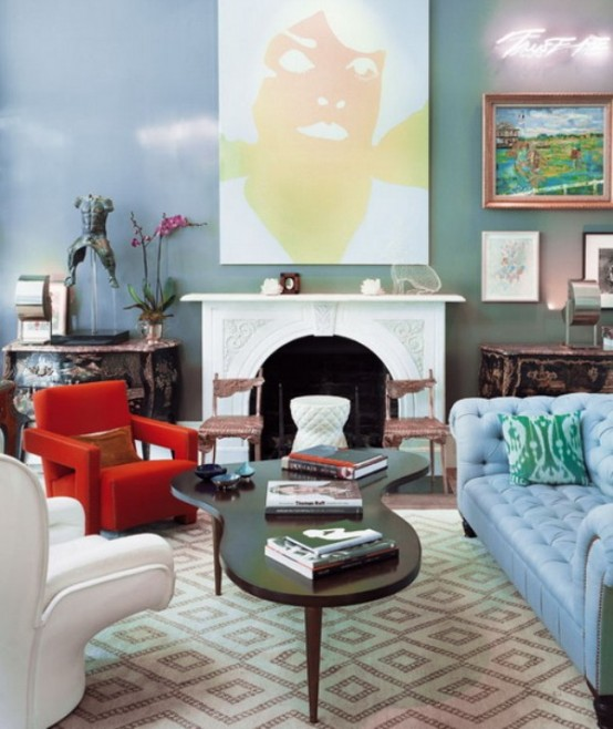 Elle Interiors Interior Design Phoenix Arizona Also: Bright Apartment In A Variety Of Colors