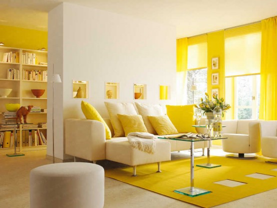 Yellow Mood banana mood: 27 yellow dipped room designs - digsdigs