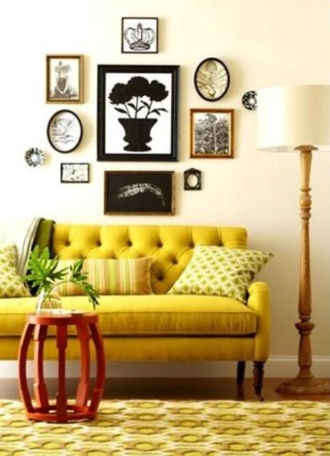 Bright Banana Dipped Room Designs