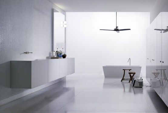 sophisticated long space laufen classic bathroom 560x483