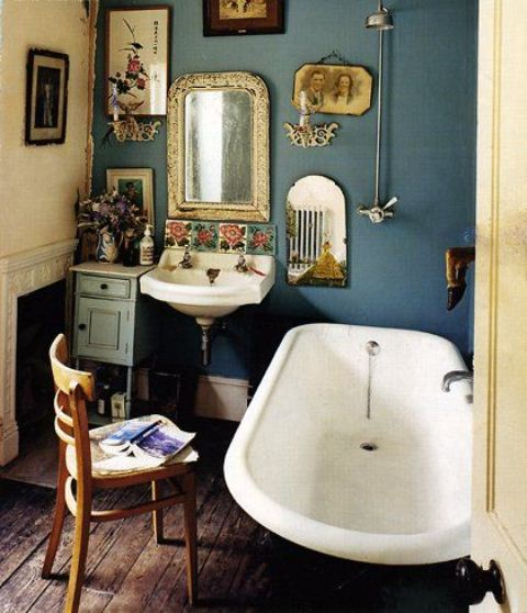 36 bright bohemian bathroom design ideas digsdigs for Retro bathroom designs