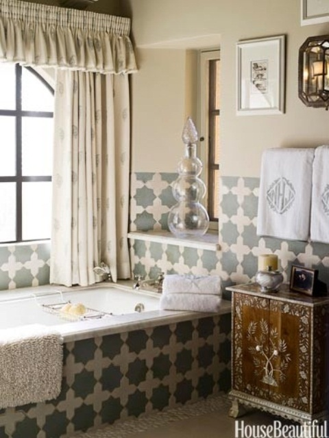 58 Bright Bohemian Bathroom Design Ideas Digsdigs