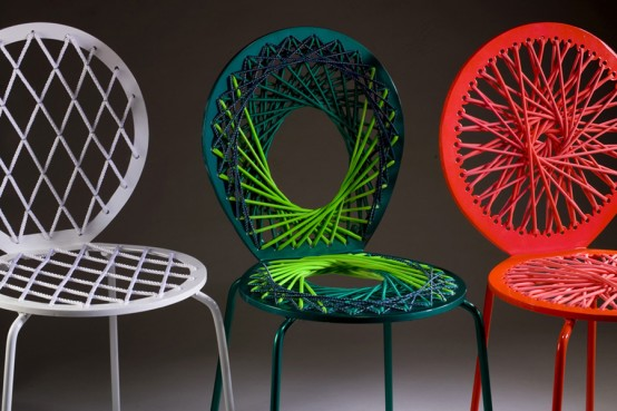 Bright Colored Vivid Chairs