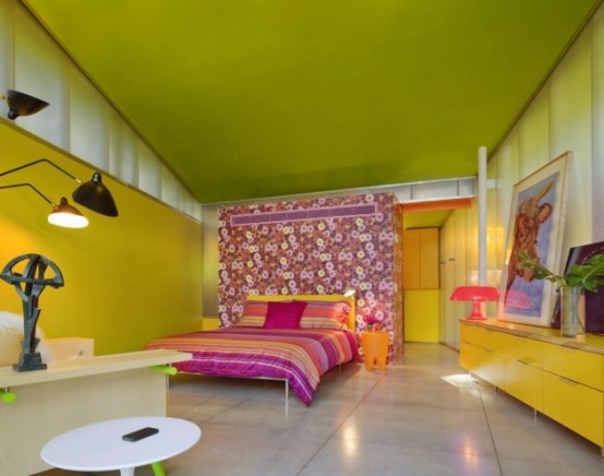 Crazy Colorful House Design In New York