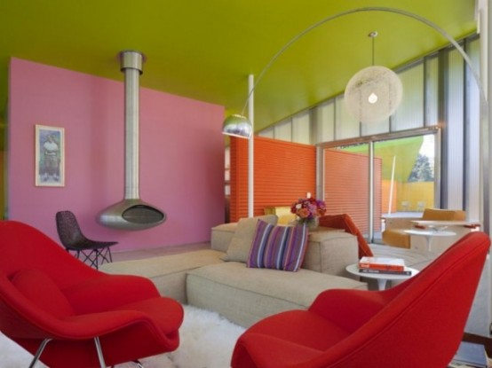 Bright Colorful House In New York