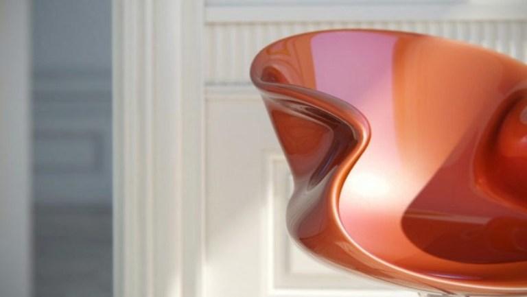 Bright Glossy Futuristic Furniture by Nuvist Architecture