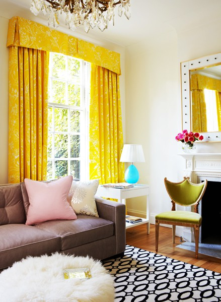 111 bright and colorful living room design ideas digsdigs Yellow room design ideas