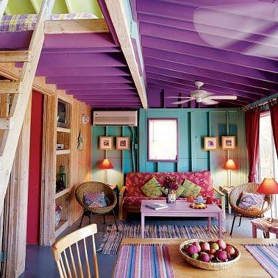 Bright Loft Like Living Room