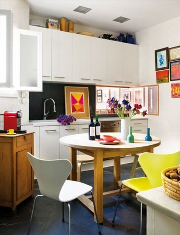 Bright Penthouse In A Fusion Of Styles