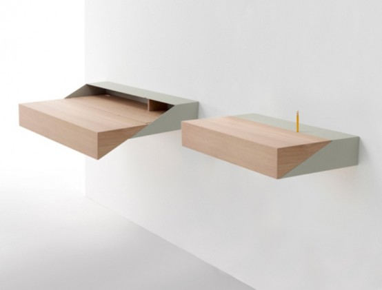 Brilliant Space-Saving And Multifunctional Desk