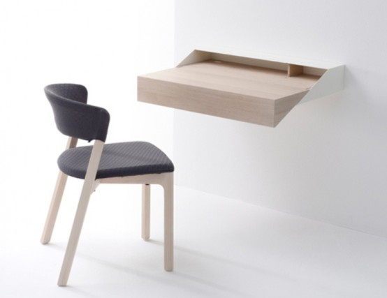 Brilliant Space Saving And Multifunctional Desk