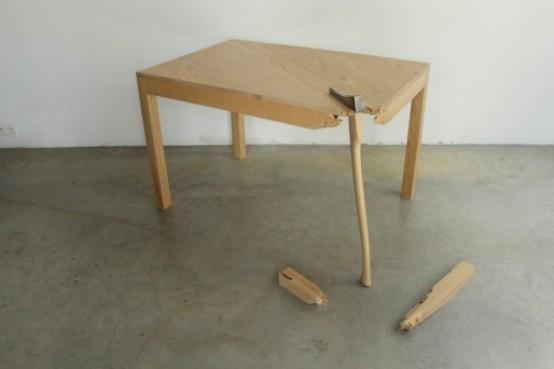39 Broken 39 Furniture Collection By Lennart Van Uffelen