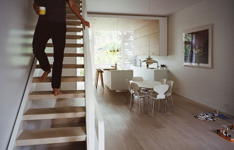 Picture Of brooklyn town house with serene scandinavian interiors  1