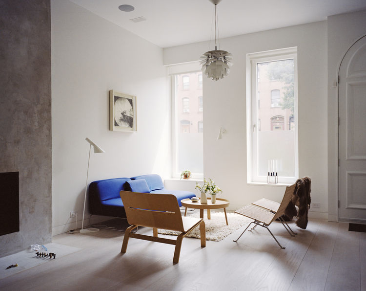 Picture Of brooklyn town house with serene scandinavian interiors  2