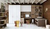 Brown Teen Room