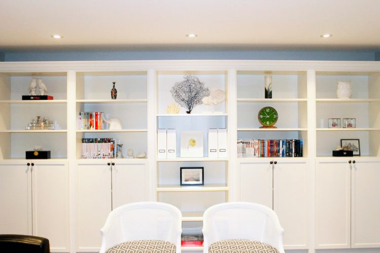 built-in bookcases and shelving is one of the most popular ikea billy hacks