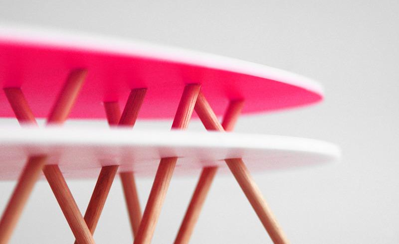 Caka Shaped Coffee Table