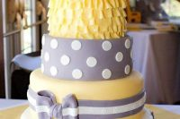 cake for a gender neutral baby shower