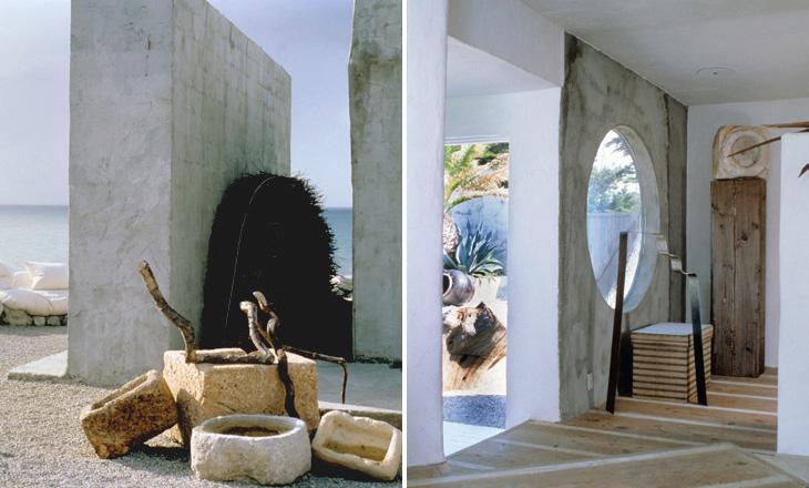 california beach country house