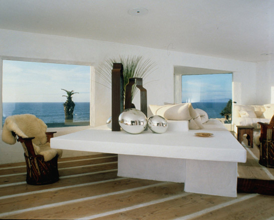 california beach house table