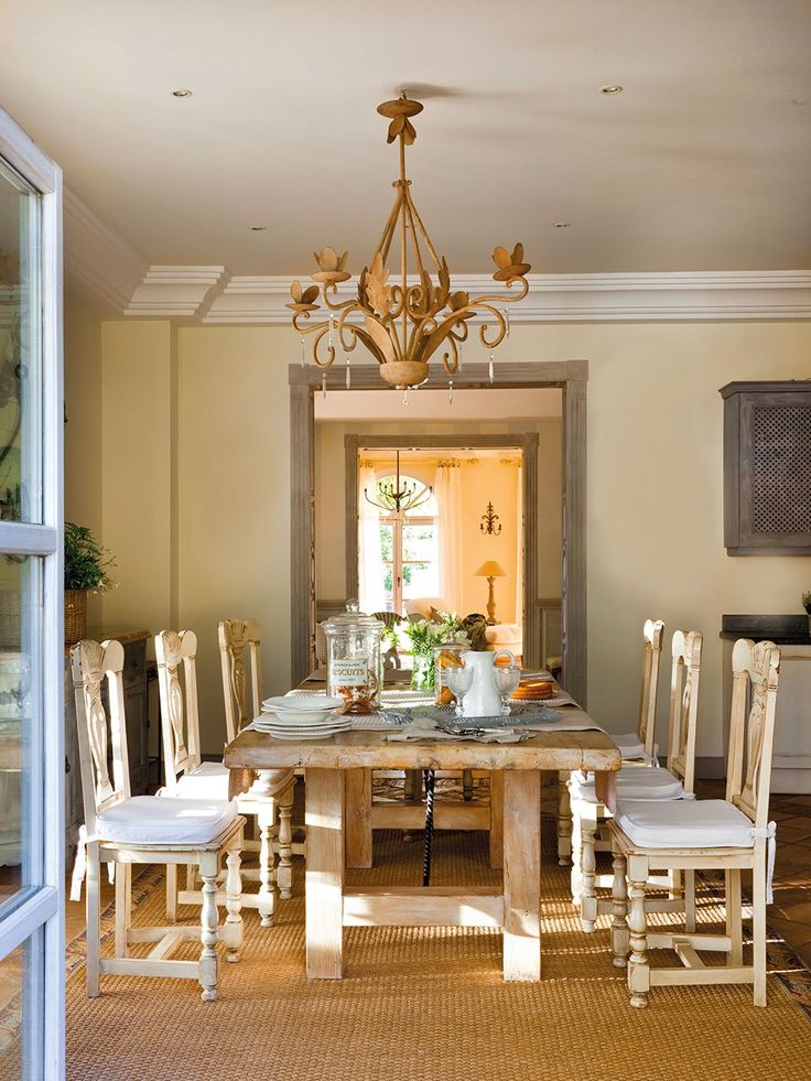 47 calm and airy rustic dining room designs digsdigs for Dining room photos
