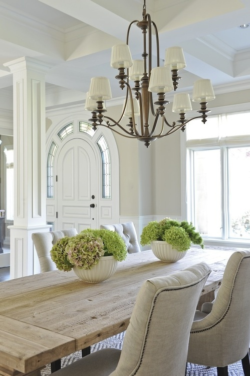 Superb Rustic Dining Room Ideas Part - 9: Calm And Airy Rustic Dining Room Designs