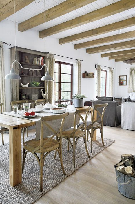 40 Cool Rustic Dining Room Designs Decorating Ideas