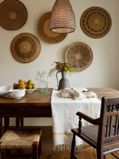 Calm And Airy Rustic Dining Room Designs