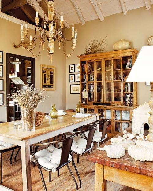 Rustic Dining Room Ideas: 47 Calm And Airy Rustic Dining Room Designs