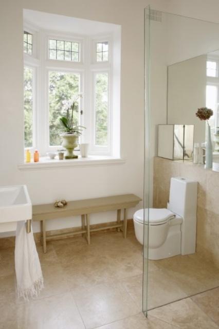 30 Calm And Beautiful Neutral Bathroom Designs Digsdigs