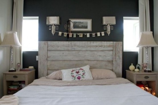 Calm And Relaxed Whitewashed Headboards Digsdigs