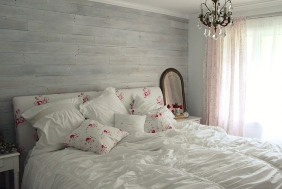 27 Calm And Relaxed Whitewashed Headboards