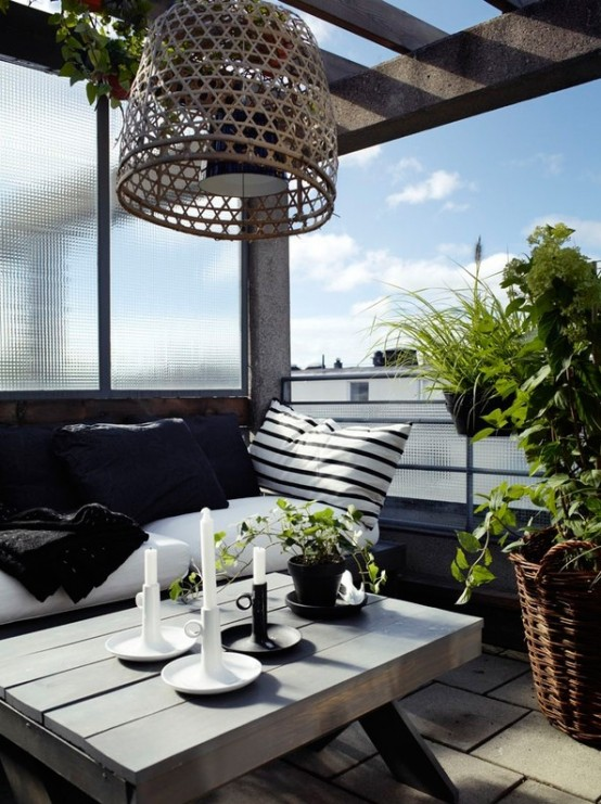 Calm Scandinavian Terrace Designs