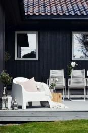 Calm Scandinavian Terrace Designs