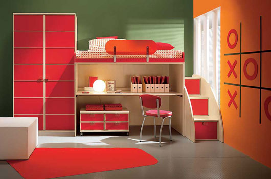 Camerette modern kids bedrooms by arredissima digsdigs for Contemporary kids room