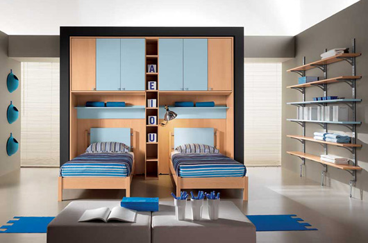 Camerette modern kids bedrooms by arredissima digsdigs for Camerette moderne