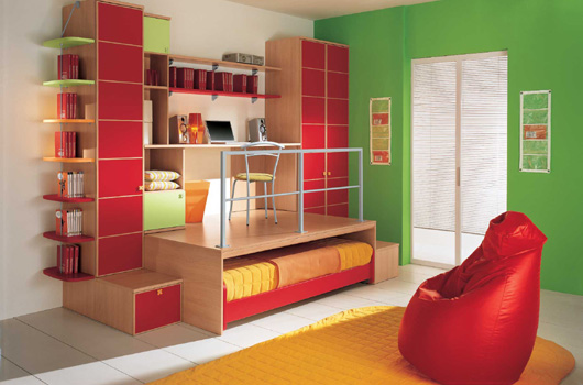 Camerette modern kids bedrooms by arredissima digsdigs for Kids bedroom designs