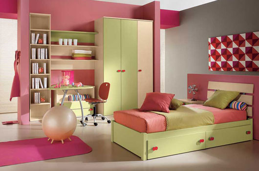 غرف نوم دلوعه  Camerette-moderne-kids-bedroom-by-arredissima-8