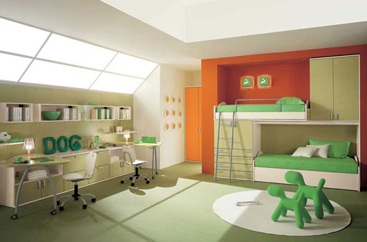 Camerette Moderne Kids Bedroom By Arredissima