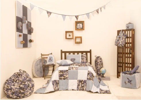 Camping Out Kids Room