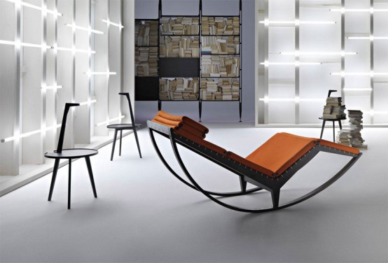 Stylish Italian Rocking Chair – Canapo by Cassina