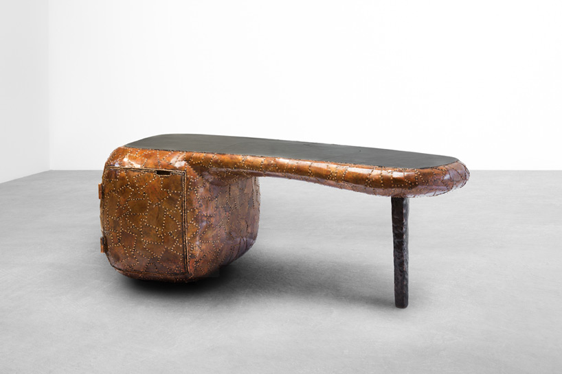 Picture Of carapace furniture collection with hard metal exterior  4